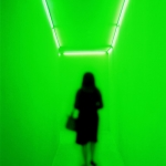 12.Woman in Green Space